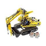 1 x Lego Technic Set Modell für Construction 8043 Raupen Bagger gelb Motorized Excavator geprüft incomplete unvollständig