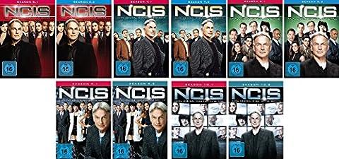 Navy CIS Staffel 6 bis 10 (6.1 - 10.2) im Set - Deutsche Originalware [30 DVDs]