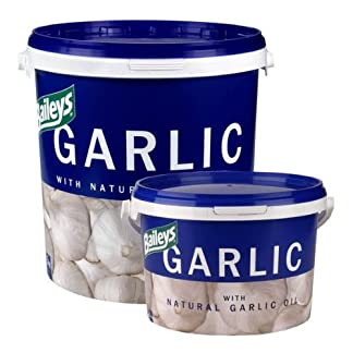Bailey's Unisex's Garlic Supplement 5kg, Clear Bailey's Unisex's Garlic Supplement 5kg, Clear 515PT439qbL