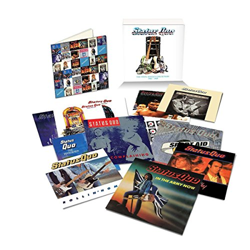 The Vinyl Singles Collection: 1984 - 1989 (7 VINYL) - Status Quo - 2017