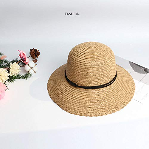 WENSISTAR Sommer Hut,FaltbarerSonnenschutzhut für denSommer@ Khaki,Sonnenschutz Kopf Damen