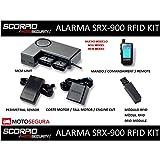 Alarma Scorpio SRX-900-2 vias RFID Kit (con Sensor perimetral y Corte de Encendido)