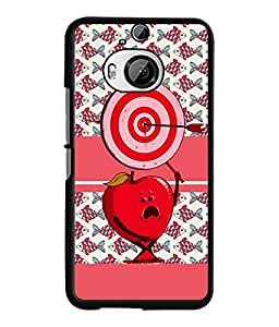 Fuson 2D Printed Love Designer back case cover for HTC One M9 Plus - D4436