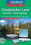Produkt-Bild: Osnabrücker Land - Bielefeld - Wiehengebirge: Digital Map mit Kurzführer