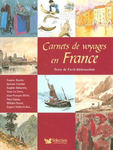 Vignette du document Carnets de voyages en France