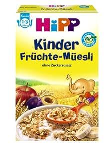 Hipp 3531 Kinder Früchte-Müsli, 6er Pack (6 x 200 g) - Bio