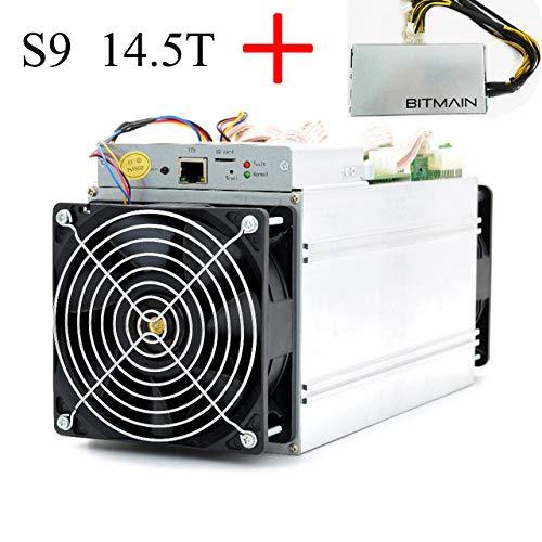 Bitmain Antminer S9i/j 14.5T Bitcoin BTC ASIC Miner inklusive APW3++ Netzteil