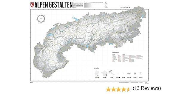 Cartina 3d Alpi.Cartina In Rilievo 3d Carte Topografiche Georelief Alpi Camping E Outdoor Navigatori Satellitari