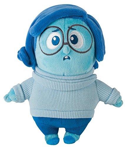 TOMY Disney Pixar Inside out The Movie - 20,3 cm Morbido Peluche Figura - Sadness