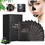 Masque Noir Luckyfine Anti-Point Masque, Point Noir Masque, Peel off Masque, Black Head Masque, Blackhead Remover Masque, Une boîte de 10PCS