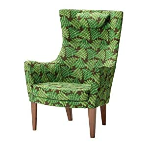 IKEA STOCKHOLM -Sessel mit hoher Rücken Mosta grün: Amazon ...