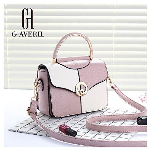 G-AVERIL, Borsa a mano donna bianco White Purple