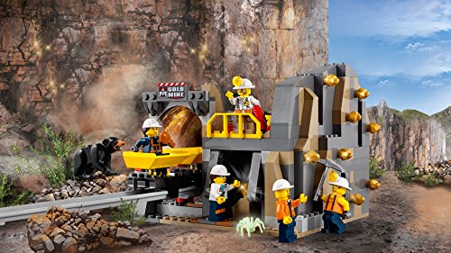 lego city bergbauprofis bergbauprofis an der abbaust tte kinderspielzeug. Black Bedroom Furniture Sets. Home Design Ideas