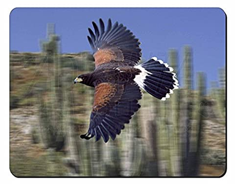 Fliegen Harris Hawk Raubvogel Computer-Maus -Matte / pad Weihnachtsgeschenk