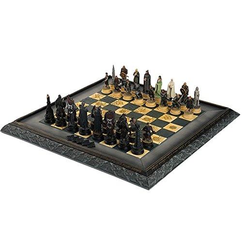 Eaglemoss du Seigneur des Anneaux Battle For Middle Earth Jeu d'échecs, 32pièces