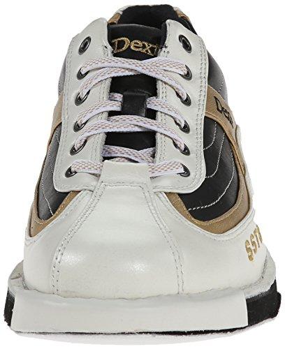 Dexter SST 8 Chaussures de bowling pour homme Blanc - Blanc/noir/doré