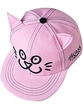 THENICE Kind Hip-Hop Katze Cap Baseball Kappe Hut