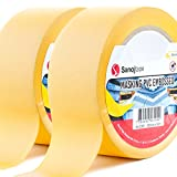 Sanojtape Premium PVC Putzband Abdeckband Gelb