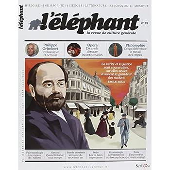 L'éléphant - La revue de culture générale - numéro 19