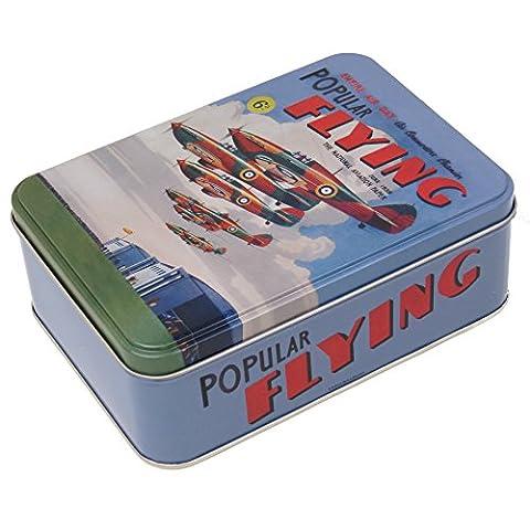 Nostalgic Images Tin Storage Popular Flying