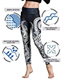 Doris Boutique FU – Hochwertige Yoga Workout Stretch Leggings – verschiedene Muster - 4