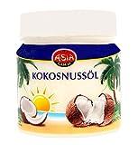 AsiaGold - Aceite de coco puro 100% - Para usar Cocina , Cosmética ,Masajes, 500 ml