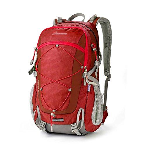 HWLXBB Outdoor Bergsteigen Tasche Männer und Frauen 40L Wasserdichte Mehrzweck-Bergsteigen Tasche Wandern Camping Bergsteigen Freizeit Rucksack Rucksack 5*