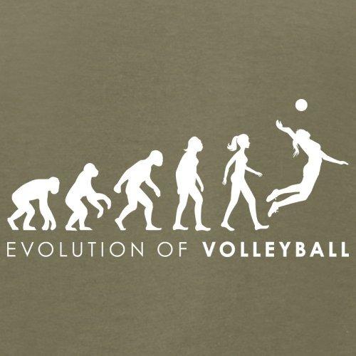 Evolution of Woman - Volleyball - Herren T-Shirt - 13 Farben Khaki