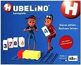 Hubelino 410078 - Lernspiel - Steine zählen - Rechnen Lernen - ab 4 Jahren (100% Kompatibel mit Duplo) - 120 Teile