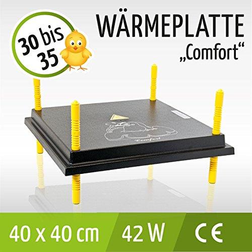 """Wärmeplatte für Küken """"COMFORT"""" 40x40cm / 42W - 3"""