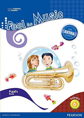 Feel The Music 6. Pupil's Book - Edición LOMCE (Siente la Música) por Fernando Martín de Argenta Pallarés