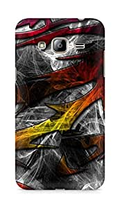 Amez designer printed 3d premium high quality back case cover for Samsung Galaxy J3 (2016 EDITION) (Pattern design)
