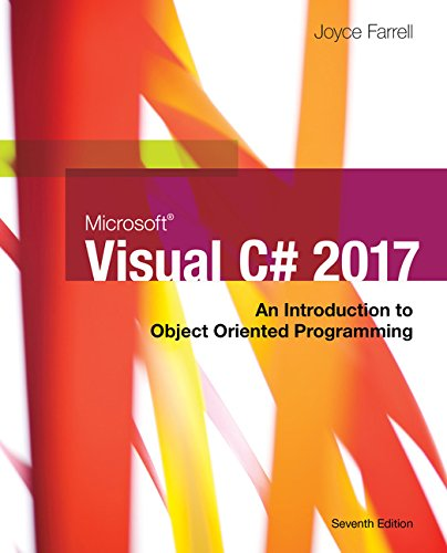 Pdf Download Microsoft Visual C An Introduction To Object Oriented Programming By Joyce Farrell Read Online Likeorekbooks267