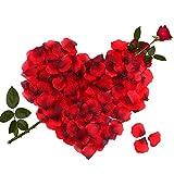3000 Stück Rosenblätter Rosenblüten für Hochzeit Party Dekoration und Romantische Atmosphäre für Valentinstag