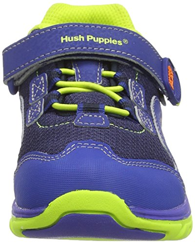 Hush Puppies  Jake, Baskets mode pour garçon - Multicolor (Navy / Green)