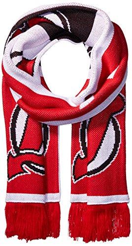 NHL SP17Wiederholen Logo Jacquard Schal, rot, Einheitsgröße