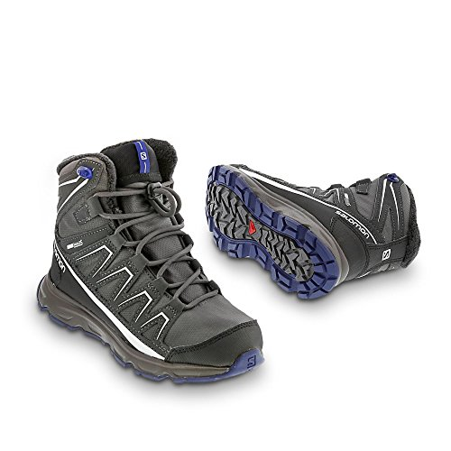 Salomon Mascota Winter CSWP J Autobahn/Asphalt/Blue