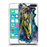 Official Riza Peker Horse Animals Soft Gel Case for Apple iPod Touch 6G 6th Gen