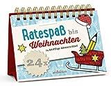 'Ratespaß bis Weihnachten: 24 knifflige Adventsrätsel (Rätsel-Adventskalender)' von Norbert Golluch