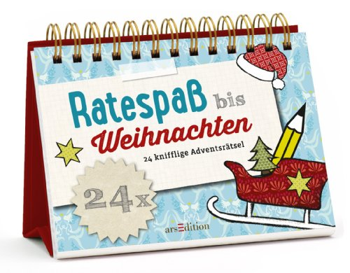Buchseite und Rezensionen zu 'Ratespaß bis Weihnachten: 24 knifflige Adventsrätsel (Rätsel-Adventskalender)' von Norbert Golluch