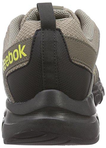 Reebok - Dmxride Comfort Rs 3.0, Scarpe sportive Uomo Beige (Beige (Beach Stn/Cliff Stn/Coal/Blk/Ylw Spark))