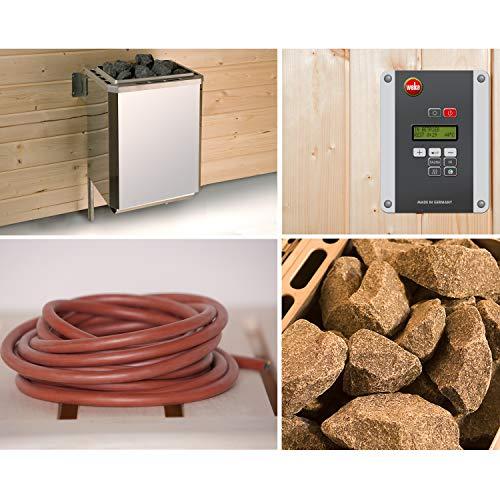 Saunaofenset 3 - 9,0 kW OS mit Ofenanschlußkabel