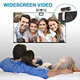Webcam 720P, GUCEE HD92 HD Web Kamera mit Mikrofon, Skype Web Cam Webkamera Kompatibel Windows 10 / 8 / 7 / XP, Weitwinkel Webcam Webcamera für Mac, Macbook, PC, Laptop, Desktop, Notebook - 8