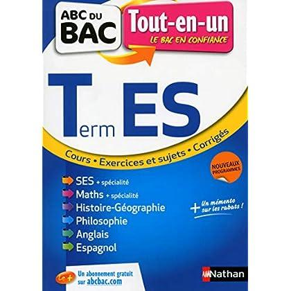 ABC du BAC Tout-en-un Term ES
