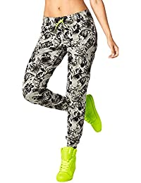 Zumba Women's Queen of the Jungle Skinny Sweatpants