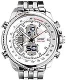 Skmei Calendar Analog Digital Multi Color Dial Men's Watch - HMWA05S024C0