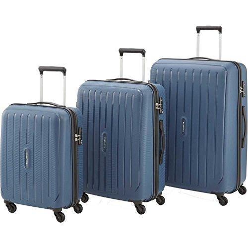 Travelite Durchläufer Koffer-Set, 75 cm, 221 L, Marine 72240-20