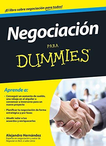 Negociación para Dummies por Alejandro Hernández