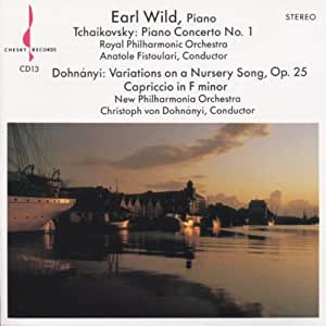 Tchaikovsky : Piano Concerto No 1 / Dohnanyi : Variations on a Nursery Song