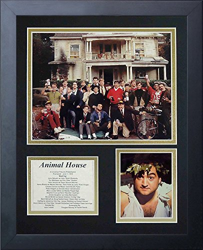 Legenden Sterben Nie Animal House gerahmtes Foto Collage, 11 x 35,6 cm